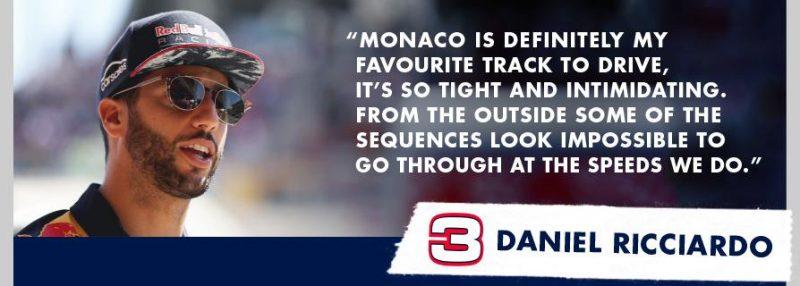 Daniel Ricciardo Monaco