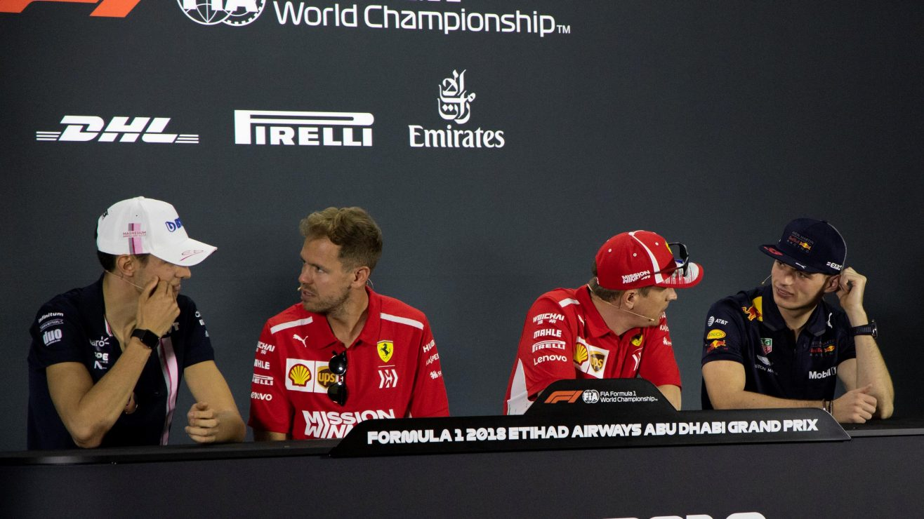 ocon-vettel-raikkonen-verstappen-press-conference