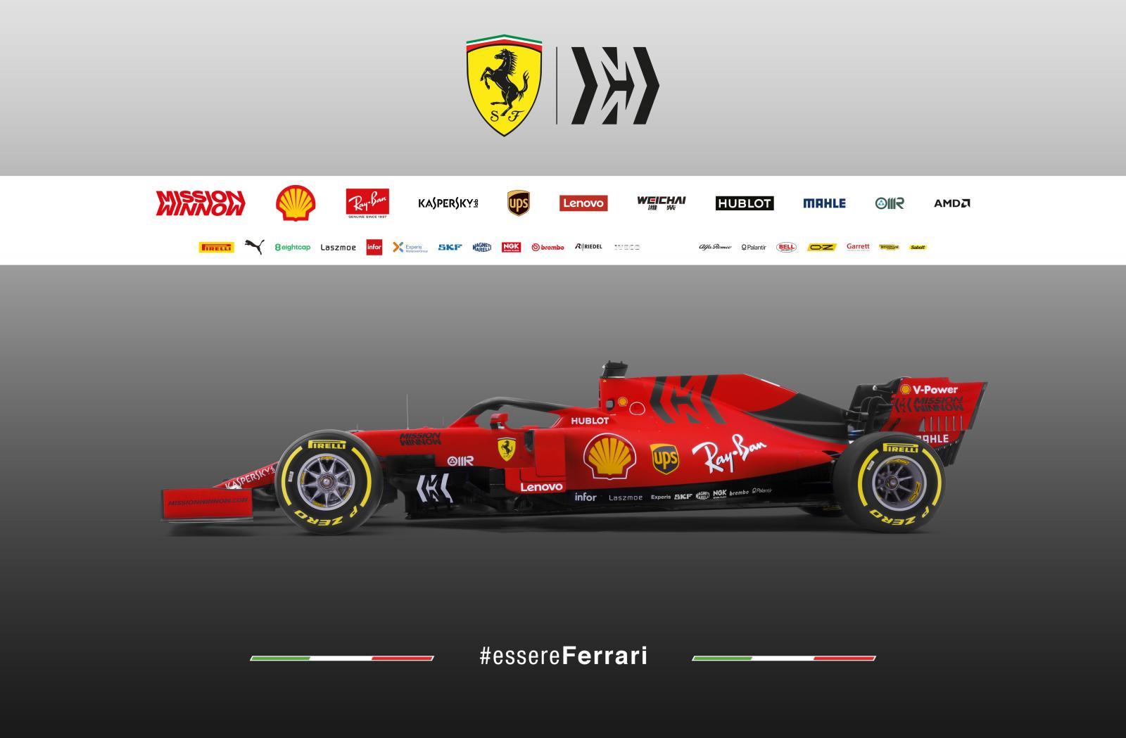 2019-ferrari-f1-car