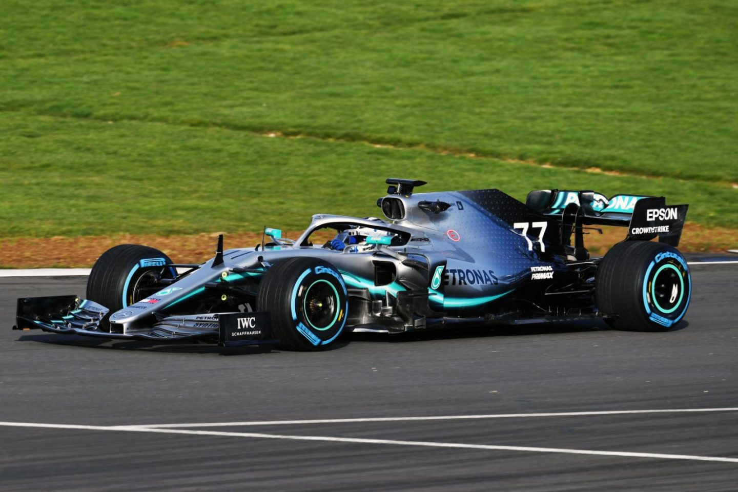 Mercedes Unveils 2019 F1 Car W10 (Featuring On-Track Images)