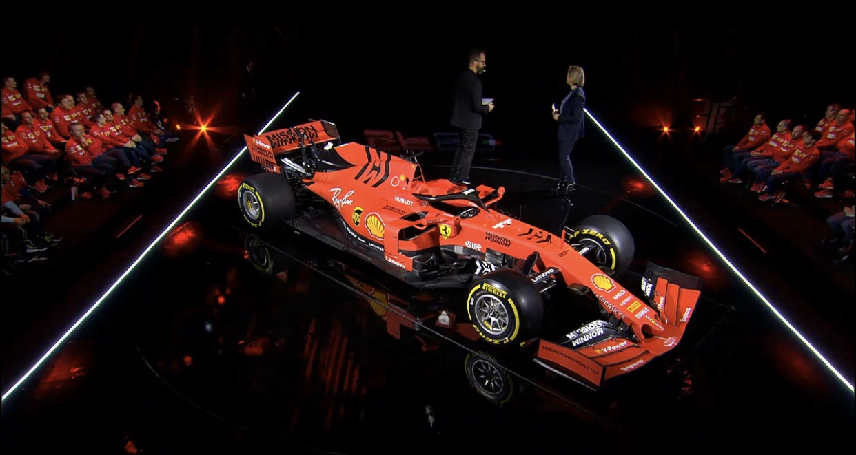 First Look: Ferrari Unveil 2019 F1 Car (SF90)