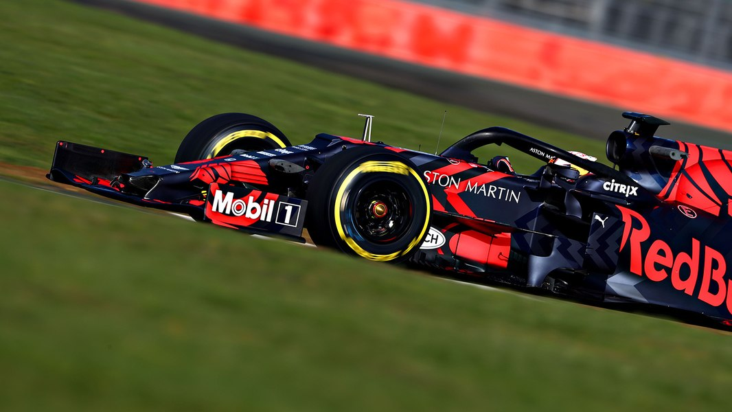 RedBull Unveils 2019 F1 Car – RB15 (One-off Livery)