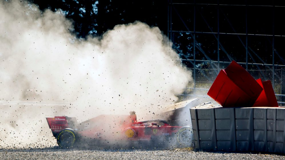 ferrari-testing-crash-f1